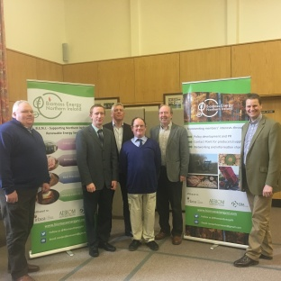 The speakers at the Biomass Workshop