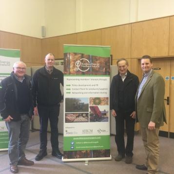BENI members (L-R) Jeffrey Boreland, Pat Durkan, Ian Duff and John Martin